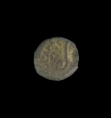 Bronze AE Prutah  (02.007.2)