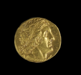Ptolemaic Gold Coin (02.037.1)