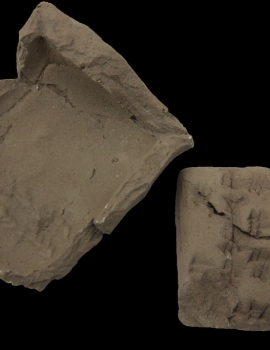 Clay Cuneiform tablet (03.024.4)