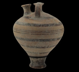 Terra Cotta Sturrip Jar  (04.163.3)