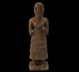 Limestone or gypsum  Idol Figurine  (10.021.4)