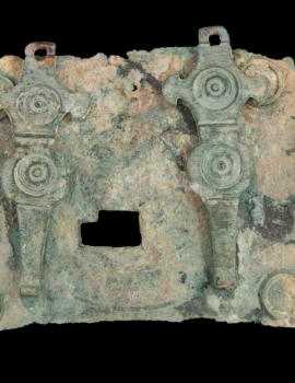 Bronze Locking to ancient door (16.007.4)