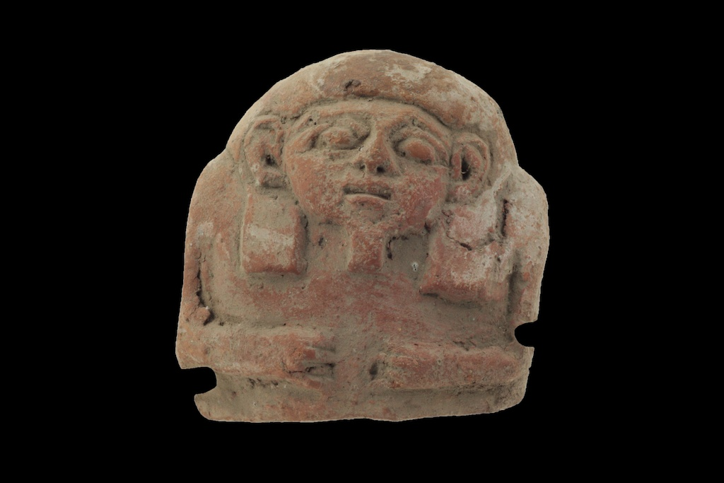 Terra Cotta Coffin Lid (18.001.1)